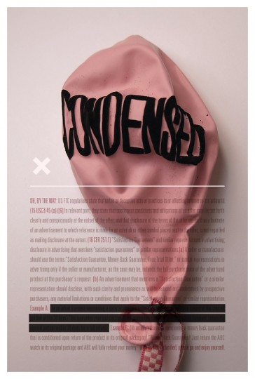 46 Contoh Poster Desain Inspiratif - Poster-inspiratif-tentang-Condensed-oleh-Tom-Davie
