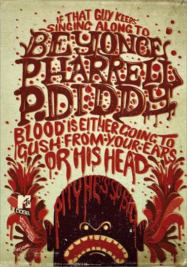46 Contoh Poster Desain Inspiratif - Poster-inspiratif-tentang-MTV-yang-didesain-oleh-Frederik-Samuel