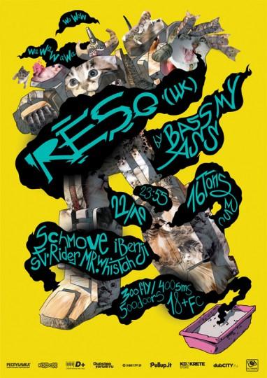 46 Contoh Poster Desain Inspiratif - Poster-inspiratif-tentang-Reso-by-Andrey-Smirny