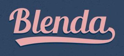 30 Koleksi Font Terbaik untuk Desain - Blenda Script Free Font