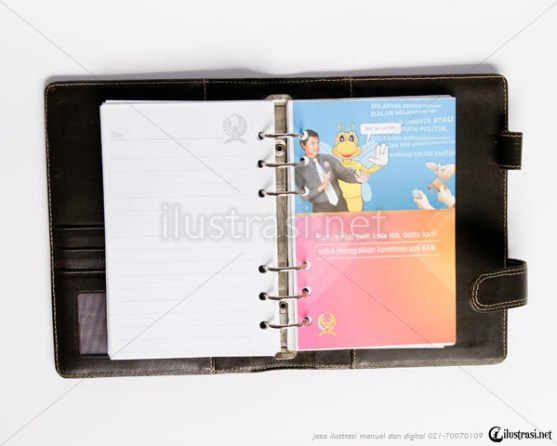 Contoh Buku Agenda Desain Cantik untuk Corporate - Desain-Buku-Agenda-Dirjen-Pajak-2