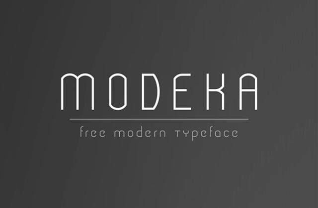 30 Koleksi Font Terbaik untuk Desain - Modeka Free Font