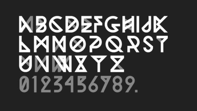 30 Koleksi Font Terbaik untuk Desain - Woodwarrior Typeface