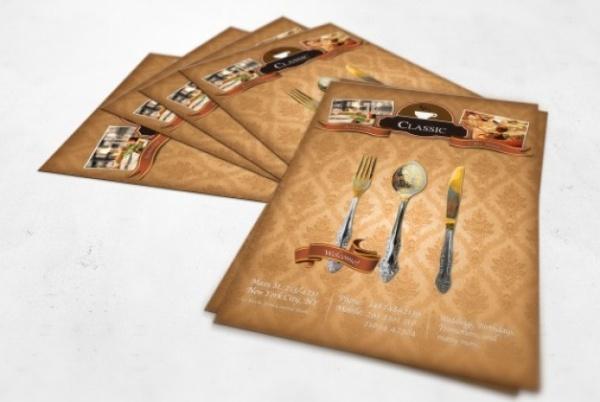30 Desain Brosur Flyer Template Download Gratis
