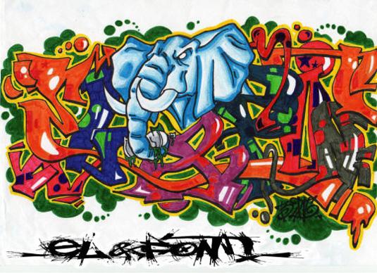 43 Font Graffiti Free Download - Jerome Delage d1232 Grafiti Font