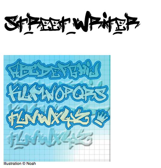 43 Font Graffiti Free Download - Street Writer Grafiti Font