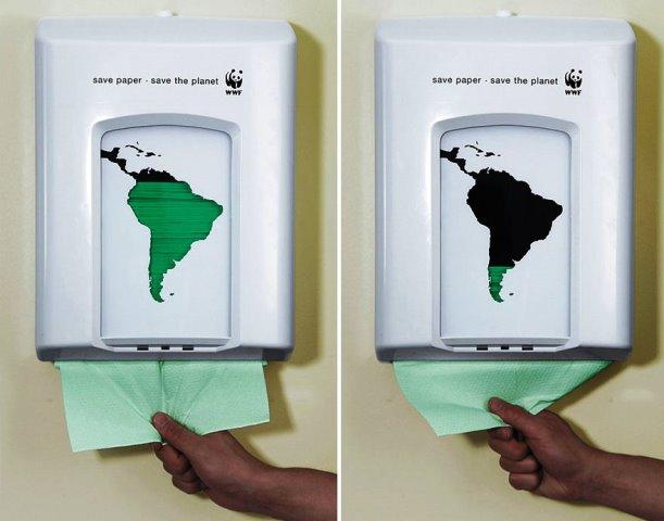 Iklan Layanan Masyarakat Paling Mengena - Iklan-tentang-Green-tentang-penggunaan-kertas