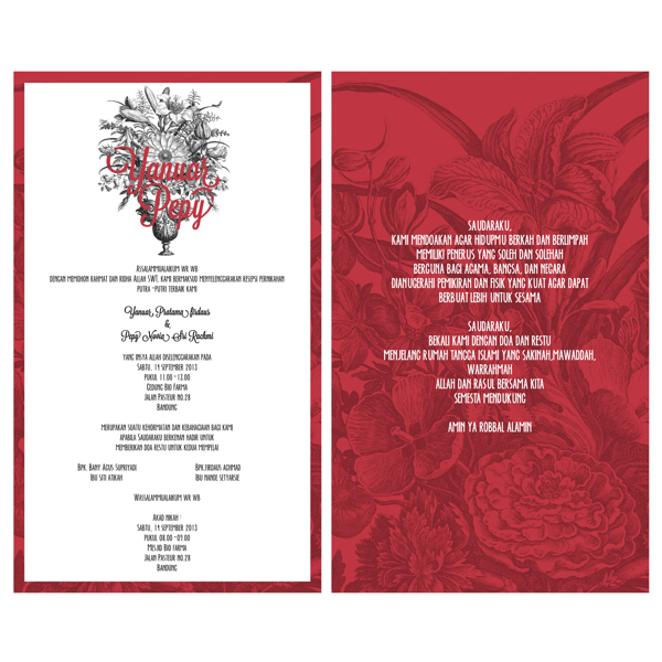37 Contoh Konsep Undangan Pernikahan Indonesia - Konsep-Undangan-Pernikahan-Indonesia-Jos-Wedding-Invitation
