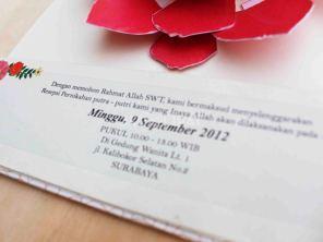 Contoh Konsep Undangan Pernikahan Indonesia