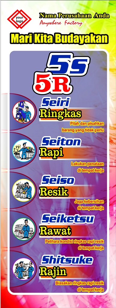 Banner Poster 5s 5r Seiri Seiton Seiso Seiketsu Shitsuke - Banner-Poster-5s-5r-Seiri-Seiton-03
