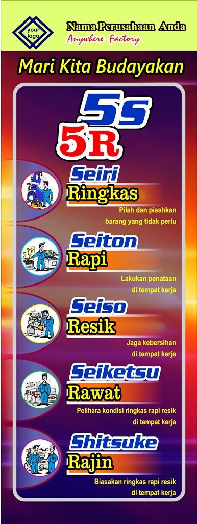 Banner Poster 5s 5r Seiri Seiton Seiso Seiketsu Shitsuke - Banner-Poster-5s-5r-Seiri-Seiton-04