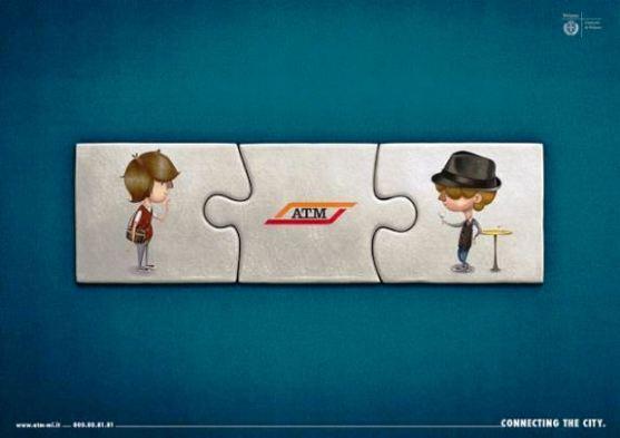 Contoh Format Iklan Advertising dengan Desain Minimalis - Contoh-02-Desain-Iklan-Minimalis-ATM-–-Connecting-the-city