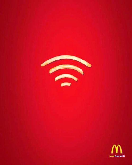 Contoh Format Iklan Advertising dengan Desain Minimalis - Contoh-20-Desain-Iklan-Minimalis-McDonald's-Wi-Fries
