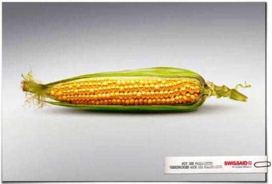 Contoh Format Iklan Advertising dengan Desain Minimalis - Contoh-31-Desain-Iklan-Minimalis-Swissaid-Aid-Organization-Corncob
