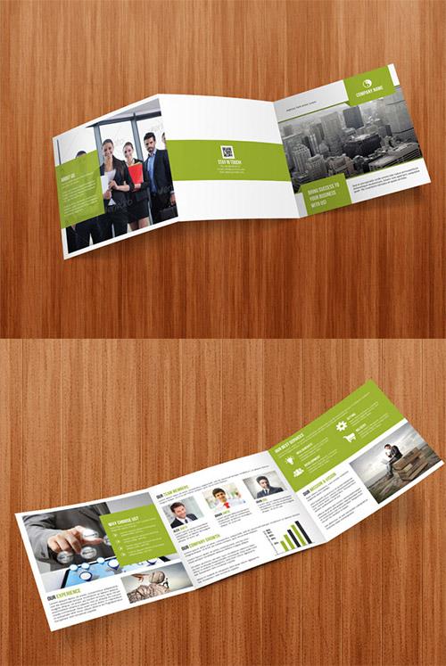 Square Tri Fold Business Brochure Free Download
