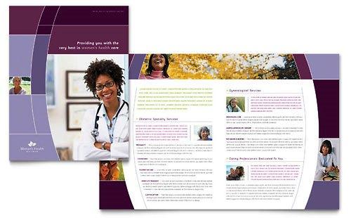 Desain Brosur Pamflet Kesehatan dan Medis - Contoh-Pamflet-Brosur-Kesehatan-Wanita