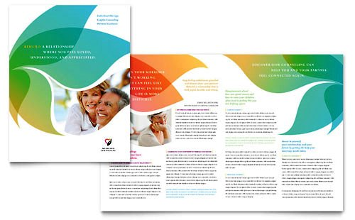 Desain Brosur Pamflet Kesehatan dan Medis - Contoh-Pamflet-Brosur-Konseling-Pernikahan