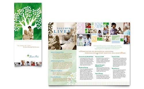 Desain Brosur Pamflet Kesehatan dan Medis - Contoh-Pamflet-Brosur-Perawatan-Lansia