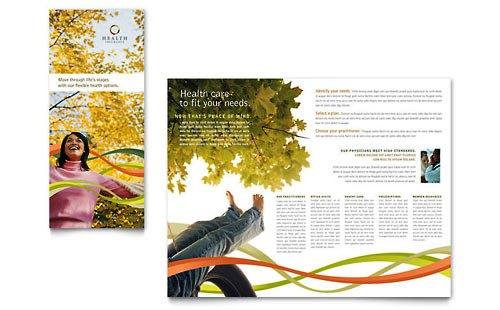 Desain Brosur Pamflet Kesehatan dan Medis - Contoh-Pamflet-Brosur-Perusahaan-Asuransi-Kesehatan