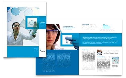 Desain Brosur Pamflet Kesehatan dan Medis - Contoh-Pamflet-Brosur-Sains-dan-Kimia