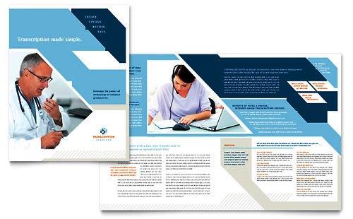 Desain Brosur Pamflet Kesehatan dan Medis - Contoh-Pamflet-Brosur-Transkrip-Kesehatan