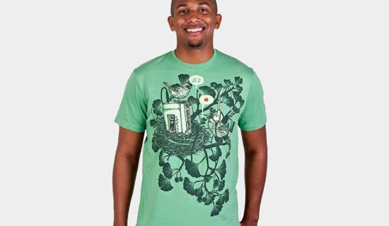Desain Kaos T Shirt Dengan Ilustrasi Keren - Desain-Kaos-T-Shirt-Keren-41