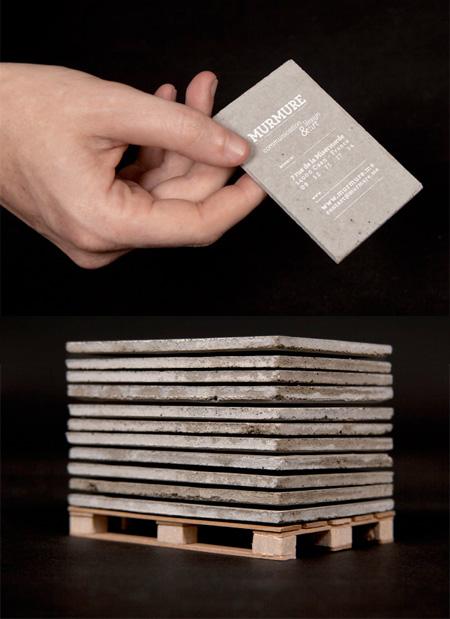 17 Kartu Nama Bisnis Desain Modern - Desain-Kartu-Nama-Bisnis-Desain-Modern-Mirip-Material-Padat