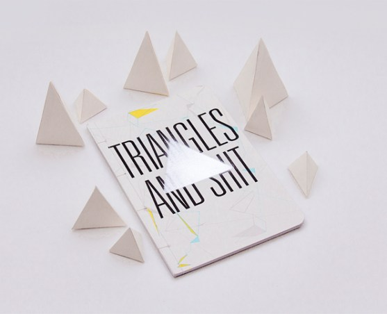19 Contoh Gambar Desain Buku Notes - Desain-Notes-Book-Triangles-and-Shit