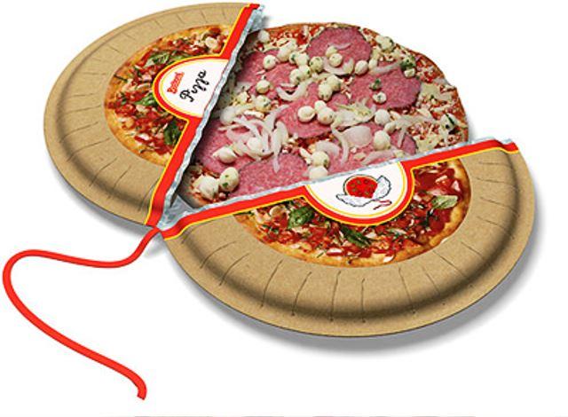 Desain Kemasan Pizza Unik Menarik Inspiratif