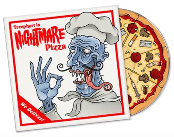 Desain Kemasan Pizza Unik Menarik Inspiratif - Gambar-Foto-Desain-Box-Kemasan-Pizza-berilustrasi-komik-horor-artistik