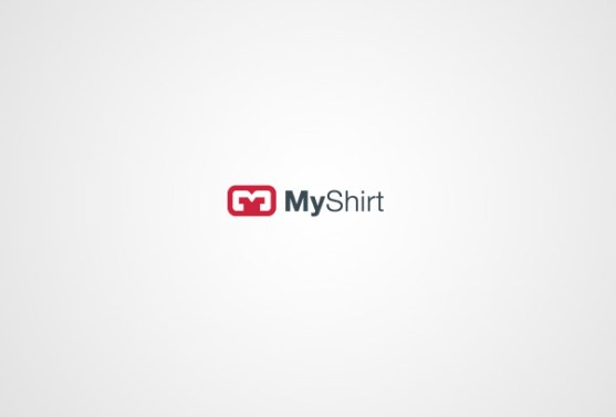 Logo dengan Desain Spasi Negatif - Logo-My-Shirt