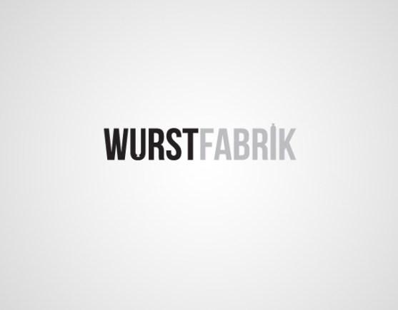 Logo dengan Desain Spasi Negatif - Logo-Wurst-Fabrik