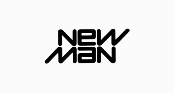 48 Contoh Logo dengan Simbol Tersembunyi - New-Man-Logo