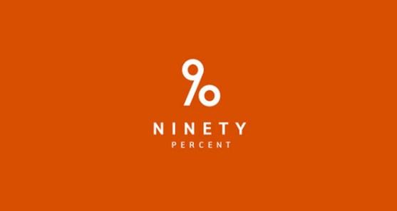 48 Contoh Logo dengan Simbol Tersembunyi - Ninety-Percent-Logo