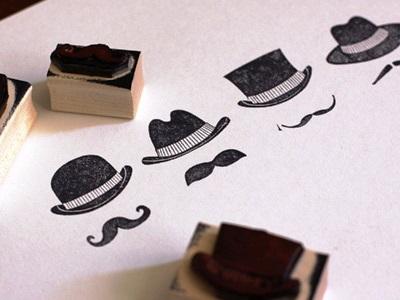 24 Contoh Desain Stempel Cantik - Stempel-Cantik-Desain-Oleh-The-Hat-Shop