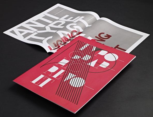 Contoh Katalog dan Buklet dengan Desain Inspiratif - Typographic-revolt-hypefortype-Contoh-Katalog-dan-Buklet