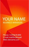 Template Kartu Nama Vector Gratis Download - template-kartu-nama-21