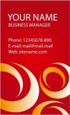 Template Kartu Nama Vector Gratis Download - template-kartu-nama-28
