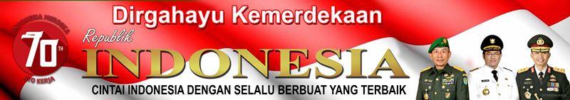 Banner Dirgahayu Kemerdekaan RI KODIM 0604 Karawang