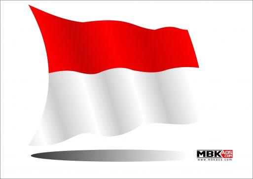 Gambar Bendera Indonesia Merah Putih Vector CDR AI PDF