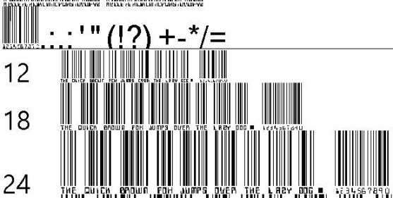 30 Best Font Barcode Download Free - Barcoding (TrueType)