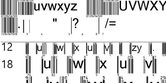 30 Best Font Barcode Download Free - EanBwrP72Tt (TrueType)