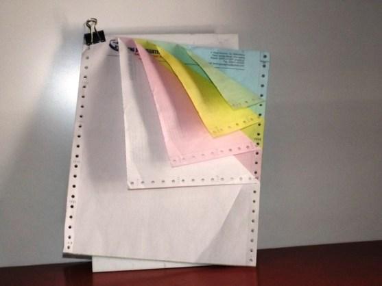 Continuous Form Surat Jalan Invoice dan Slip Gaji - Continuous Form Paper Percetakan Ayu DSCF2352