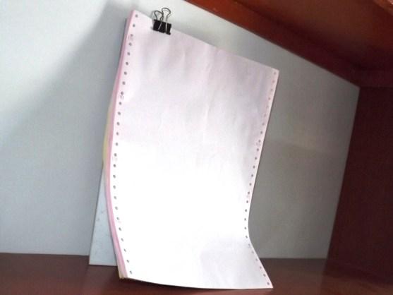 Continuous Form Surat Jalan Invoice dan Slip Gaji - Continuous Form Paper Percetakan Ayu DSCF2357