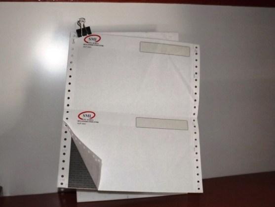 Continuous Form Surat Jalan Invoice dan Slip Gaji - Continuous Form Paper Percetakan Ayu DSCF2361