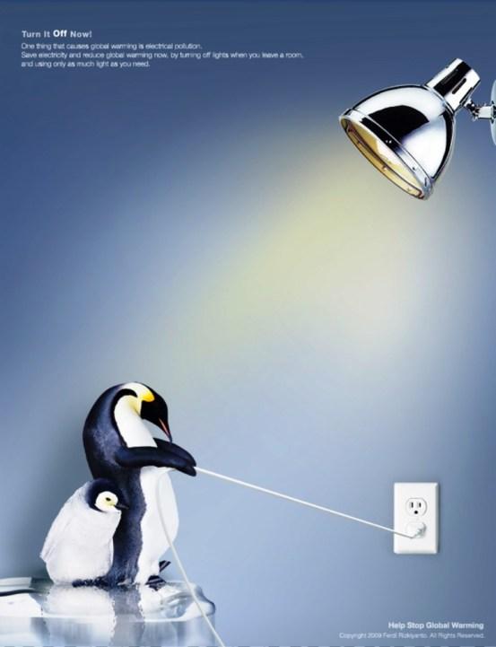 33 Contoh Poster Adiwiyata Go Green Lingkungan Hidup Hijau - Help-Stop-Global-Warming-Campaign
