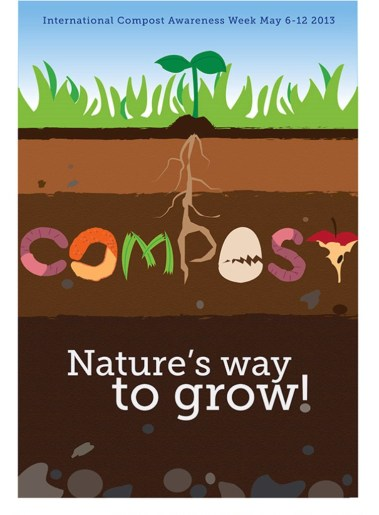 33 Contoh Poster Adiwiyata Go Green Lingkungan Hidup Hijau - International-Compost-Awareness-Week