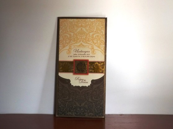 Bisnis Percetakan Desain Undangan - Katalog Undangan Pernikahan President Card Album Seri 3 -DSCF2092