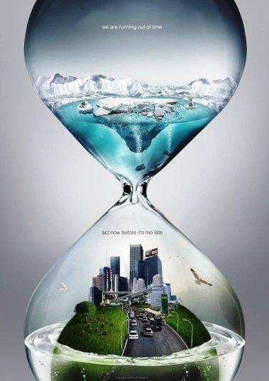 33 Contoh Poster Adiwiyata Go Green Lingkungan Hidup Hijau - Time-127400866