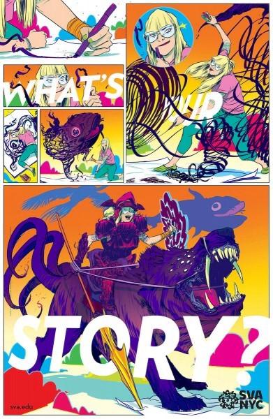 Mencetak Desain Poster yang Berkualitas - contoh desain poster yang bagus 24